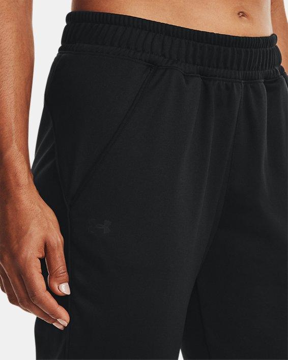 Women's UA Tricot Pants, Black, pdpMainDesktop image number 3