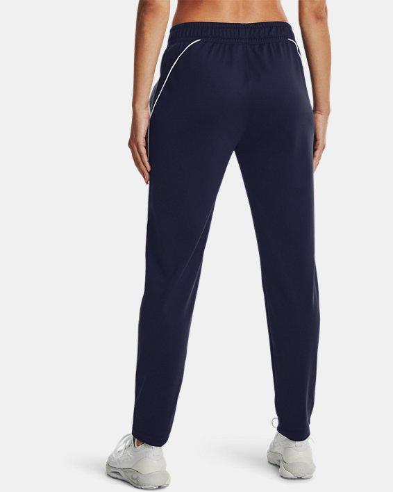 Women's UA Tricot Pants, Navy, pdpMainDesktop image number 2