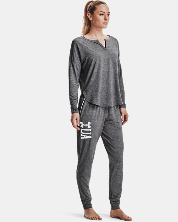Women's UA RECOVER™ Sleepwear Joggers, Black, pdpMainDesktop image number 0