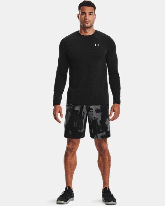 Men's UA RUSH™ Seamless Long Sleeve, Black, pdpMainDesktop image number 2