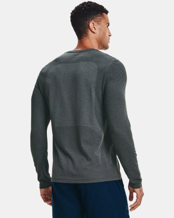 Men's UA Seamless Long Sleeve, Gray, pdpMainDesktop image number 1
