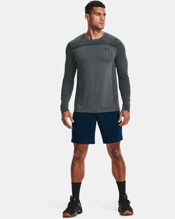 Men's UA Seamless Long Sleeve, Gray, pdpMainDesktop image number 2
