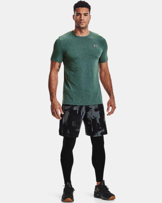 Men's UA RUSH™ Seamless Leggings, Black, pdpMainDesktop image number 0
