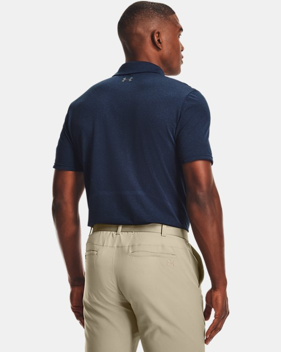 Polo UAVanish Seamless Mapped pour homme, Navy, pdpMainDesktop image number 2