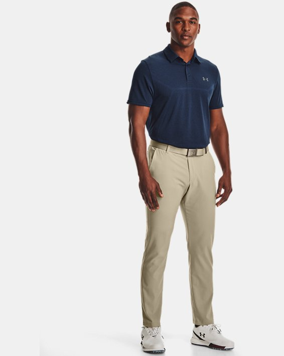 Polo UAVanish Seamless Mapped pour homme, Navy, pdpMainDesktop image number 0