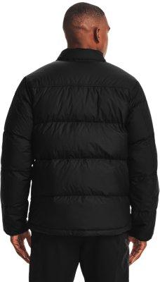 Under Armour Project Rock Black Training Vest Down Filled Activewear Jacket 2xl