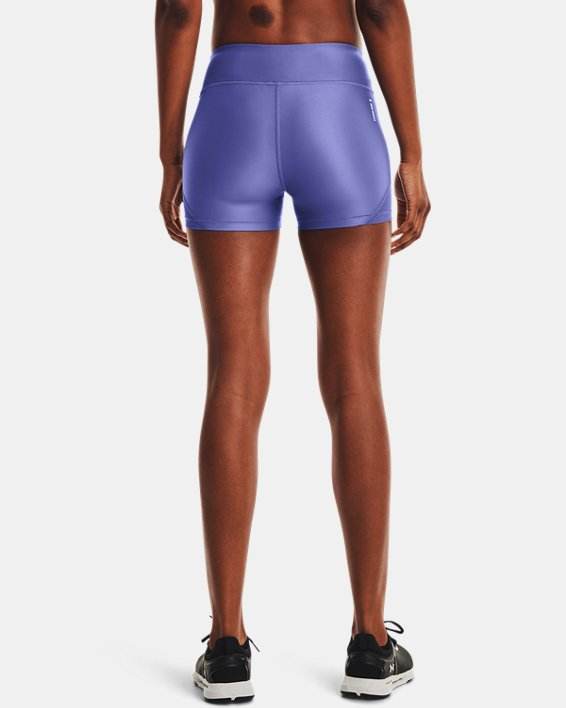 Shorty UAHeatGear® Iso-Chill pour femme, Purple, pdpMainDesktop image number 2