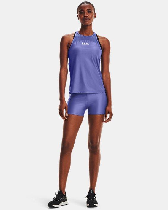 Shorty UAHeatGear® Iso-Chill pour femme, Purple, pdpMainDesktop image number 0