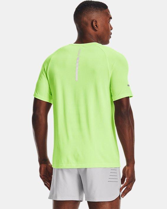 Men's UA Vanish Seamless Run Short Sleeve, Green, pdpMainDesktop image number 1