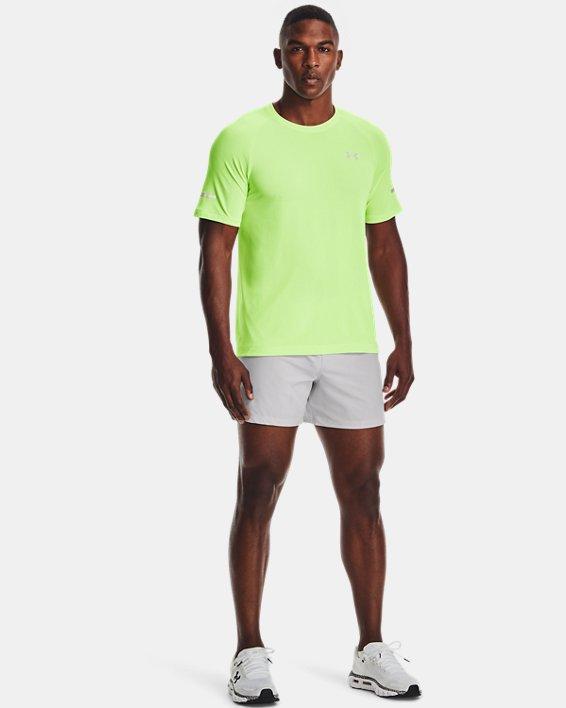 Men's UA Vanish Seamless Run Short Sleeve, Green, pdpMainDesktop image number 2