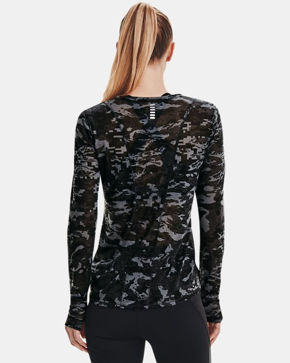 Maglia a manica lunga UA Breeze Run da donna, Black, pdpMainDesktop image number 2