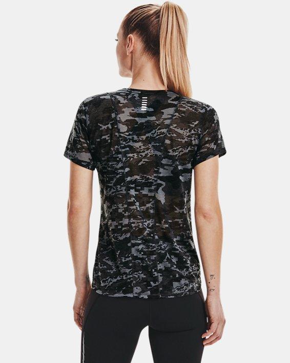 Women's UA Breeze Run Short Sleeve, Black, pdpMainDesktop image number 2