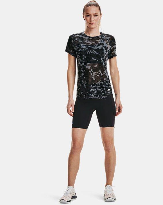 Women's UA Breeze Run Short Sleeve, Black, pdpMainDesktop image number 0
