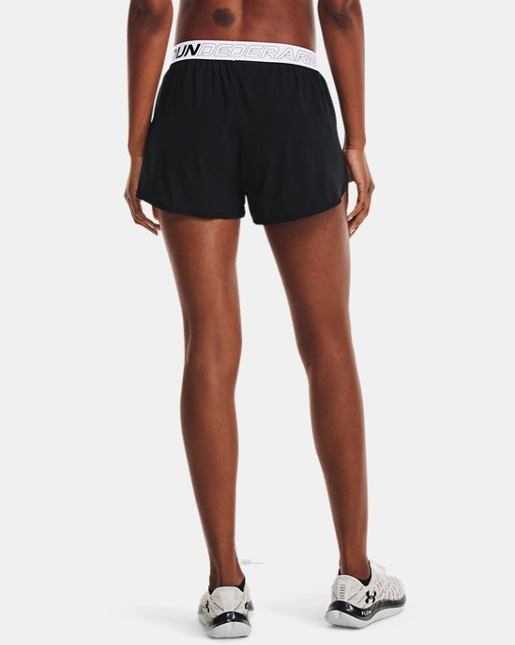 Pantalón corto de running UA Draft para mujer, Black, pdpMainDesktop image number 2