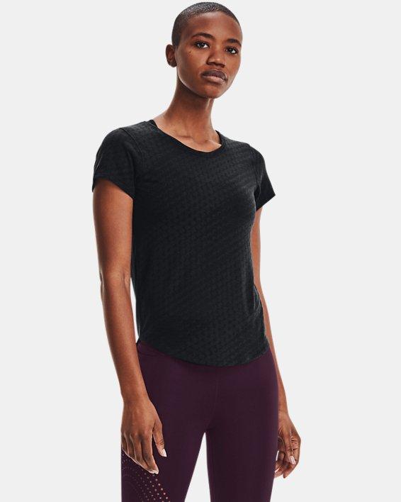 Women's UA Streaker Runclipse Short Sleeve, Black, pdpMainDesktop image number 1