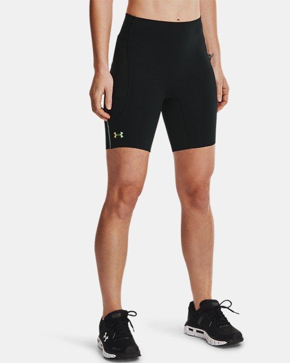 Women's UA RUSH™ Run Pocket Shorts, Black, pdpMainDesktop image number 1