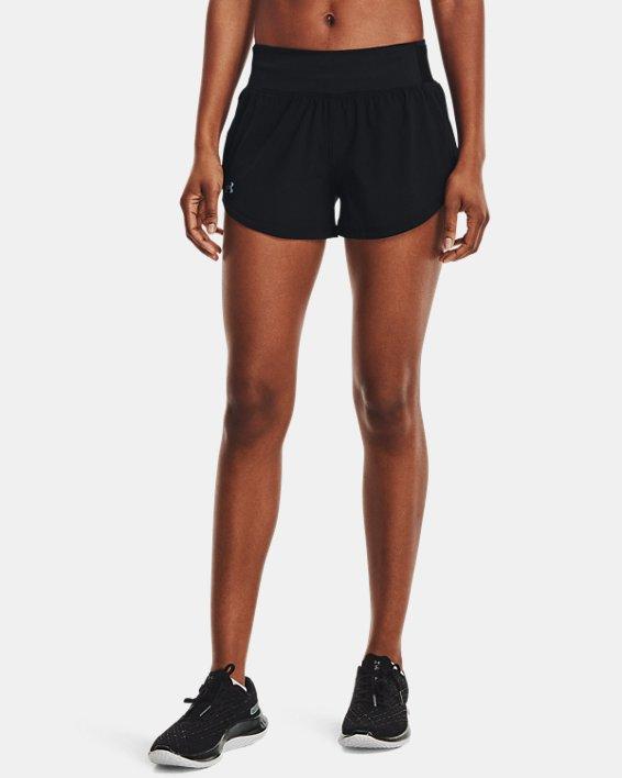 Women's UA Speedpocket Shorts, Black, pdpMainDesktop image number 1