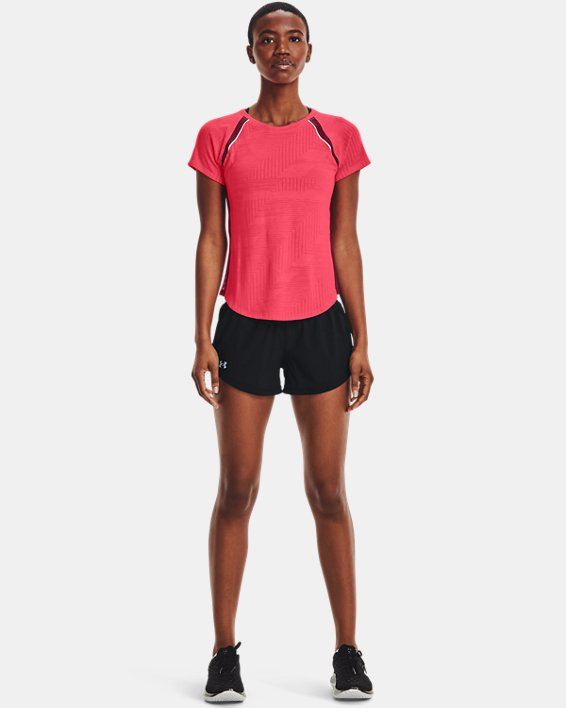 Women's UA Speedpocket Shorts, Black, pdpMainDesktop image number 0