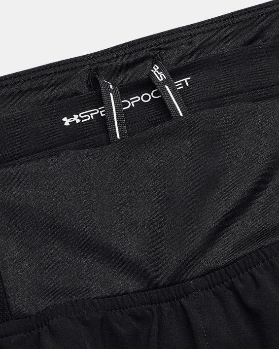 Women's UA Speedpocket Shorts, Black, pdpMainDesktop image number 9