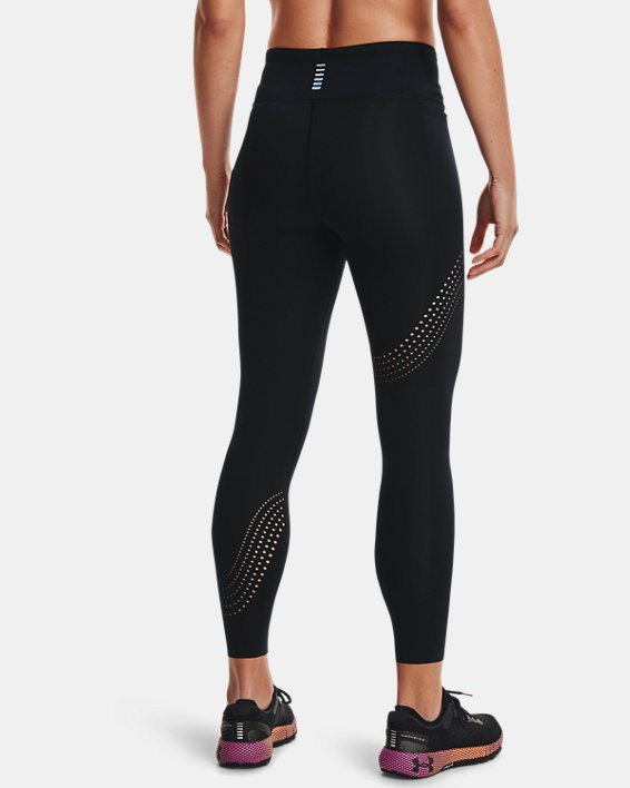 Mallas tobilleras UA Speedpocket para mujer, Black, pdpMainDesktop image number 2