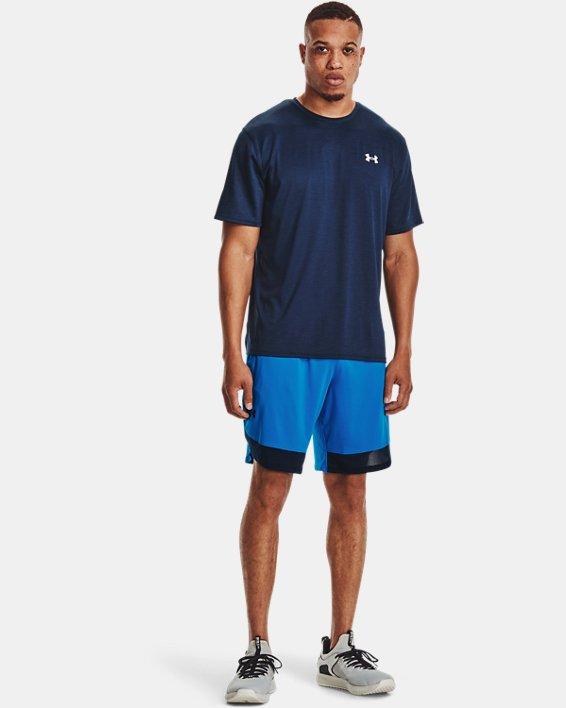 Men's UA Training Vent 2.0 Short Sleeve, Navy, pdpMainDesktop image number 2