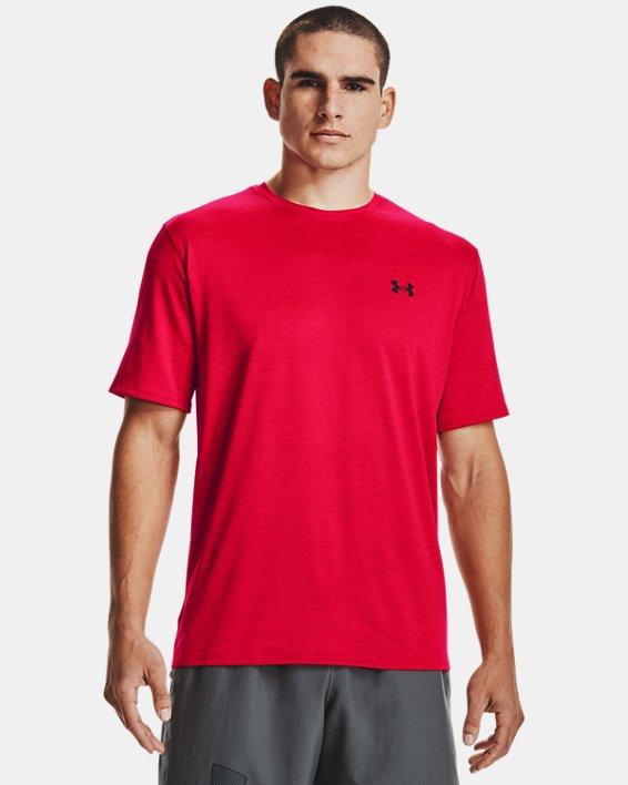 Men's UA Training Vent 2.0 Short Sleeve, Red, pdpMainDesktop image number 0