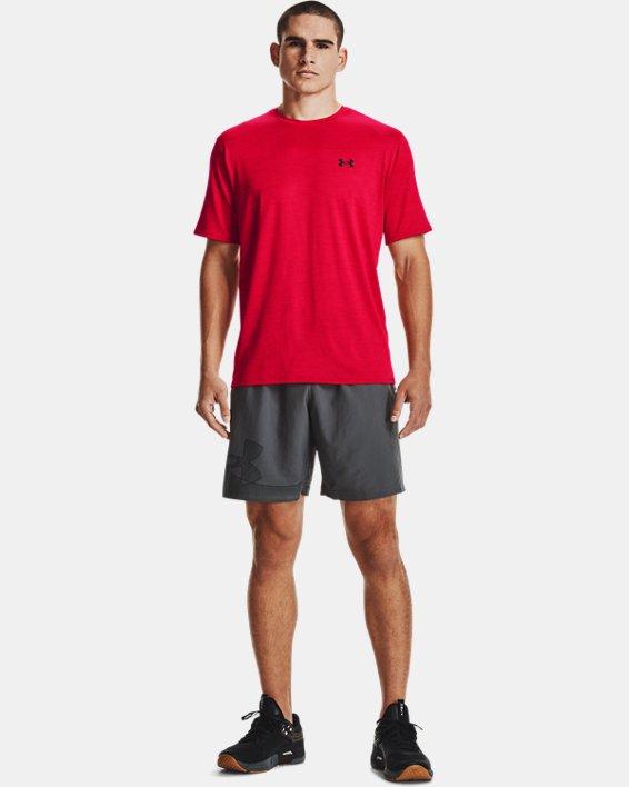 Men's UA Training Vent 2.0 Short Sleeve, Red, pdpMainDesktop image number 2