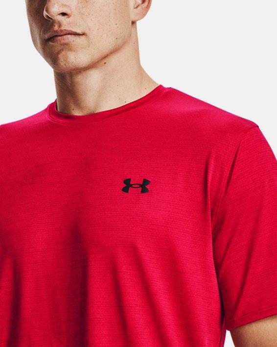 Men's UA Training Vent 2.0 Short Sleeve, Red, pdpMainDesktop image number 3