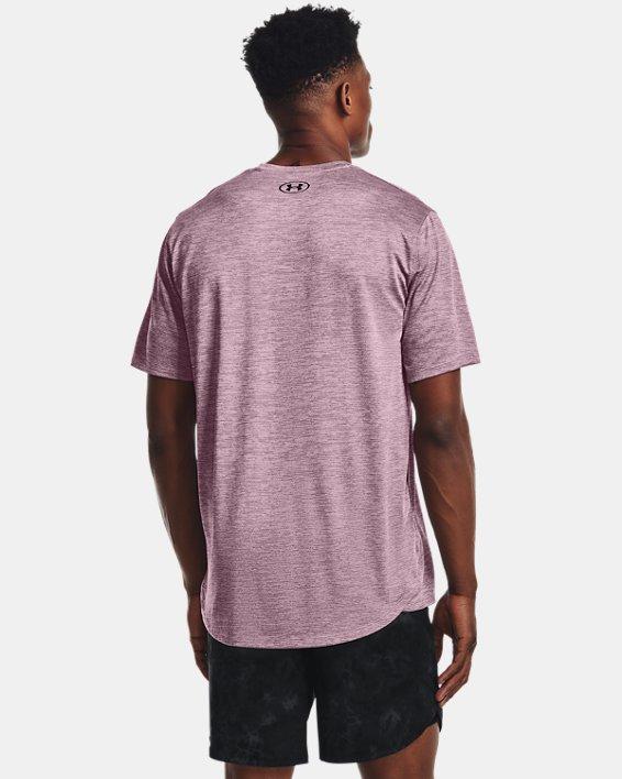Men's UA Training Vent 2.0 Short Sleeve, Pink, pdpMainDesktop image number 1