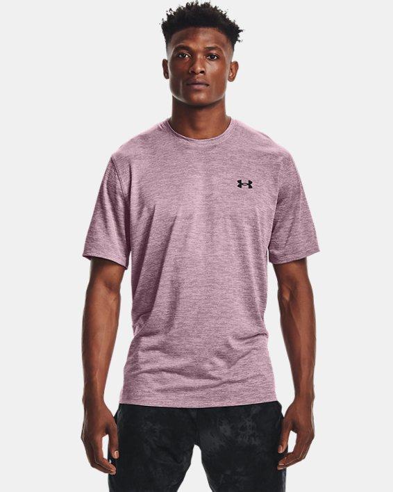 Men's UA Training Vent 2.0 Short Sleeve, Pink, pdpMainDesktop image number 0