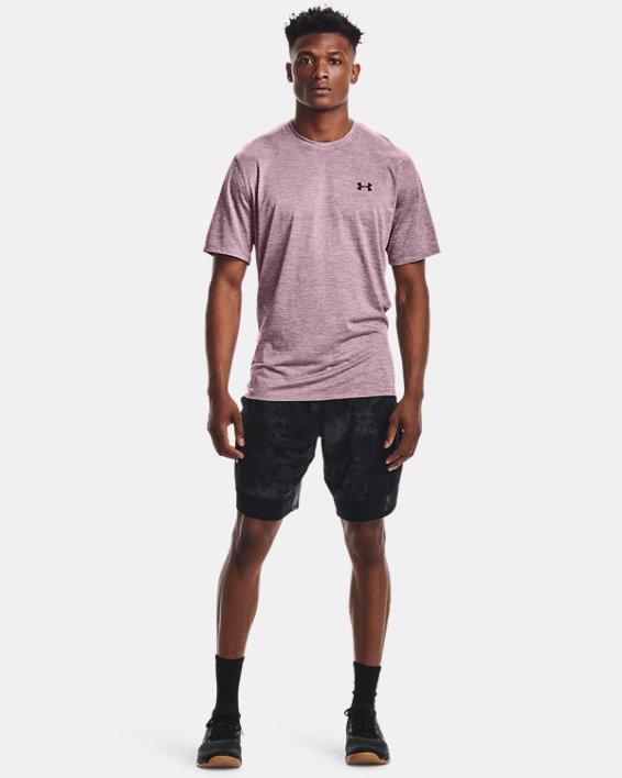 Men's UA Training Vent 2.0 Short Sleeve, Pink, pdpMainDesktop image number 2