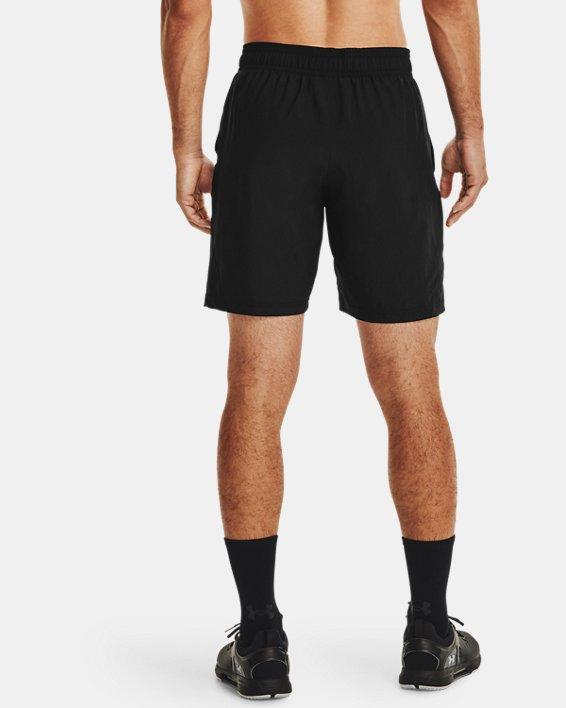 Men's UA Woven Graphic Wordmark Shorts, Black, pdpMainDesktop image number 1