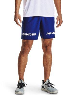 Under Armour Mens Men Woven Graphic Wordmark Short