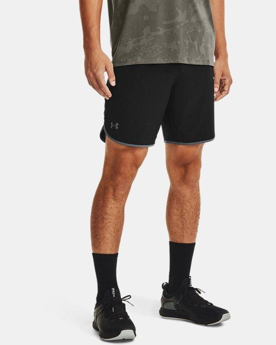 Men's UA HIIT Woven Shorts, Black, pdpMainDesktop image number 1
