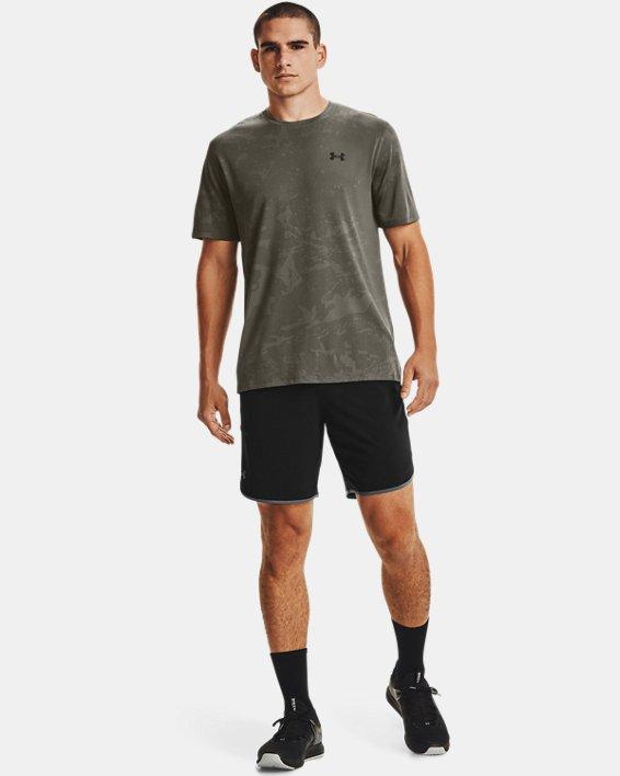 Men's UA HIIT Woven Shorts, Black, pdpMainDesktop image number 0