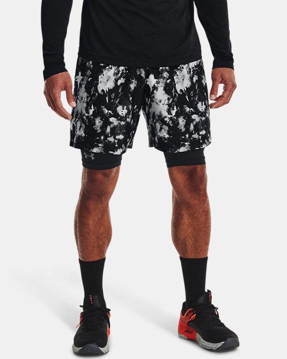 Herren UA Adapt Shorts aus Webstoff, Black, pdpMainDesktop image number 1