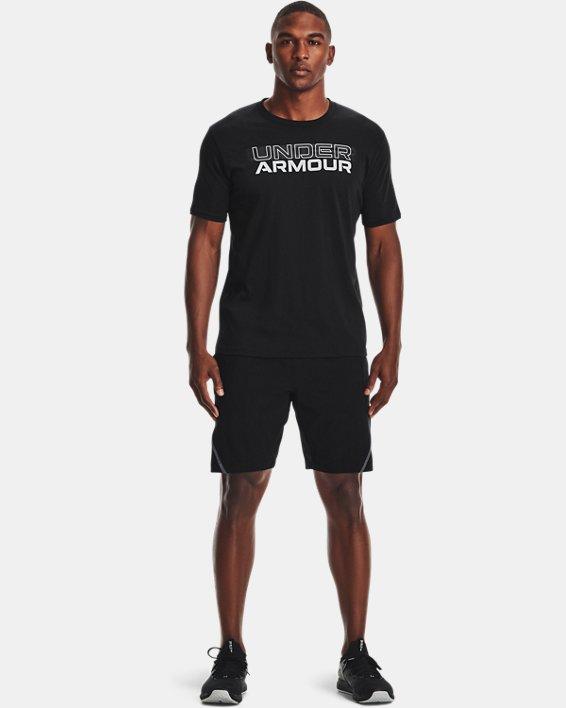 Short UA Unstoppable pour homme, Black, pdpMainDesktop image number 0