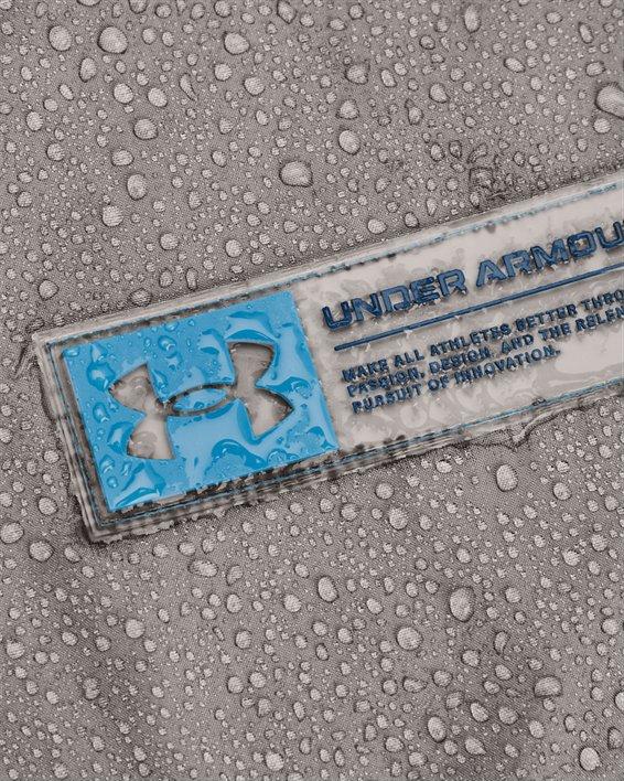 Herren Armour Fleece® Storm Hoodie mit ½ Zip, Gray, pdpMainDesktop image number 4