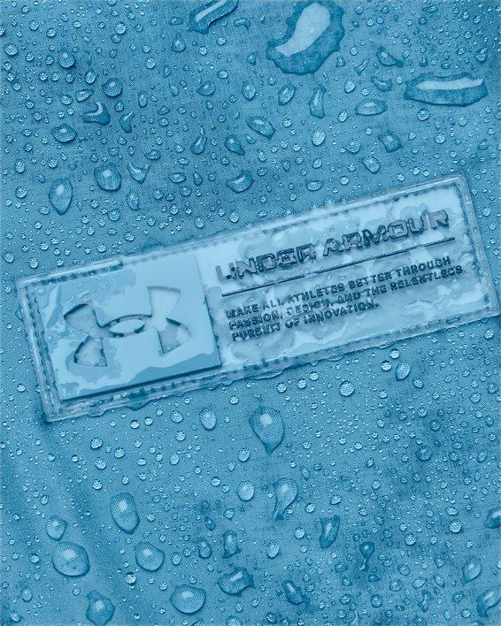 Men's Armour Fleece® Storm ½ Zip Hoodie, Blue, pdpMainDesktop image number 4