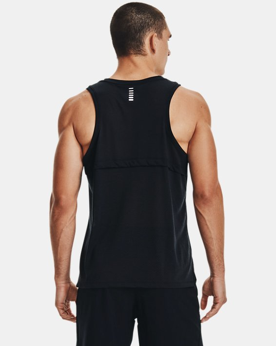 Camiseta UA Streaker Run para hombre, Black, pdpMainDesktop image number 2