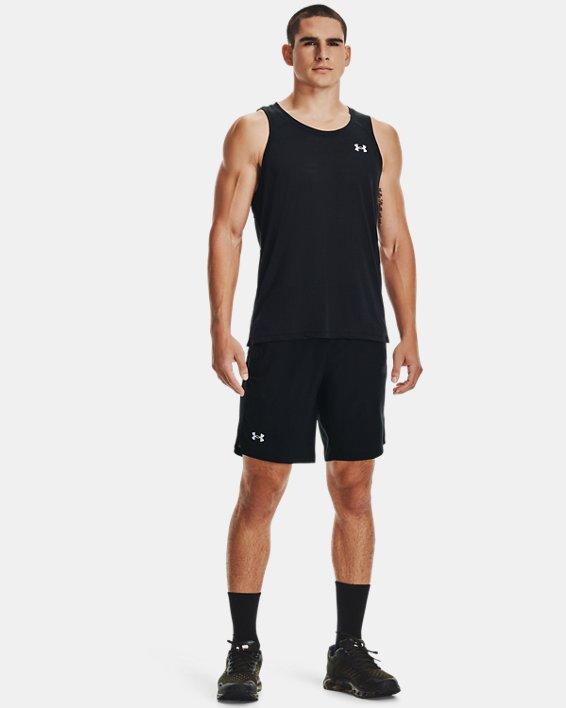 Camiseta UA Streaker Run para hombre, Black, pdpMainDesktop image number 0