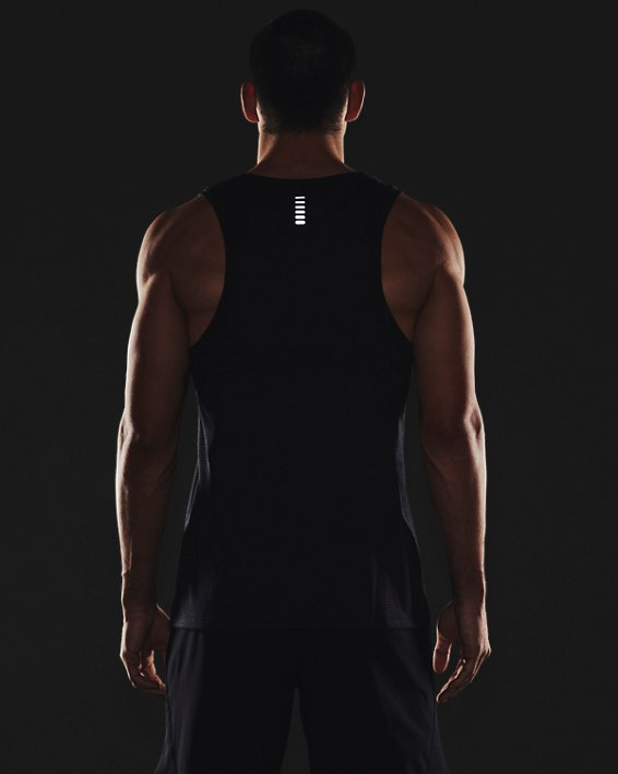 Camiseta UA Streaker Run para hombre, Black, pdpMainDesktop image number 5