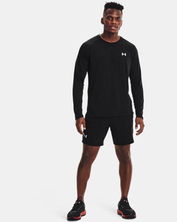 Men's UA Streaker Run Long Sleeve, Black, pdpMainDesktop image number 0