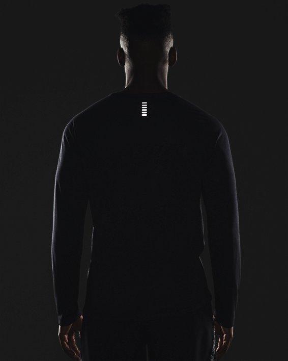 Men's UA Streaker Run Long Sleeve, Black, pdpMainDesktop image number 5