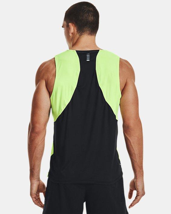 Men's UA Iso-Chill Run Brand Singlet, Green, pdpMainDesktop image number 2