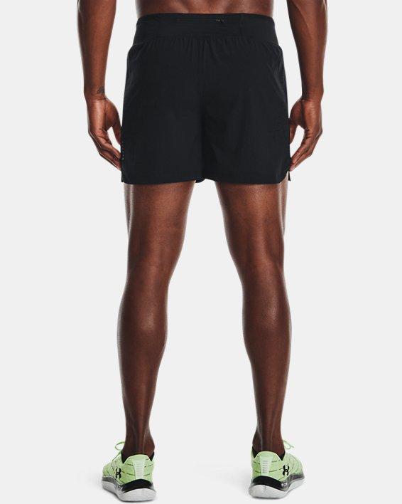 """Men's UA Speedpocket 5"""" Shorts, Black, pdpMainDesktop image number 1"""