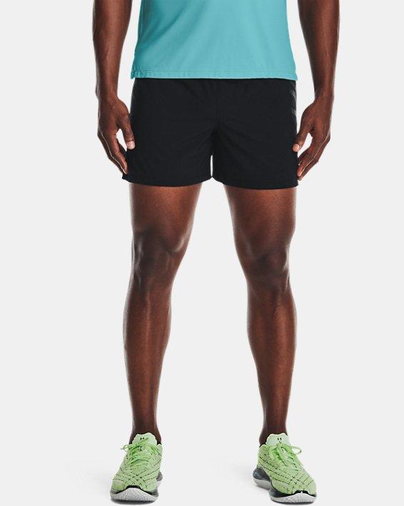 """Men's UA Speedpocket 5"""" Shorts, Black, pdpMainDesktop image number 0"""