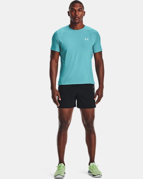 """Men's UA Speedpocket 5"""" Shorts, Black, pdpMainDesktop image number 2"""
