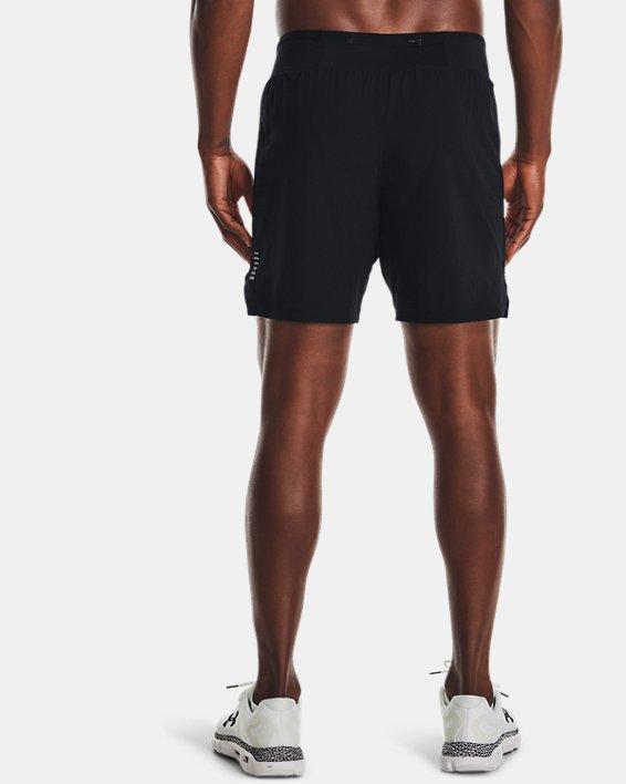 """Men's UA Speedpocket 7"""" Shorts, Black, pdpMainDesktop image number 2"""