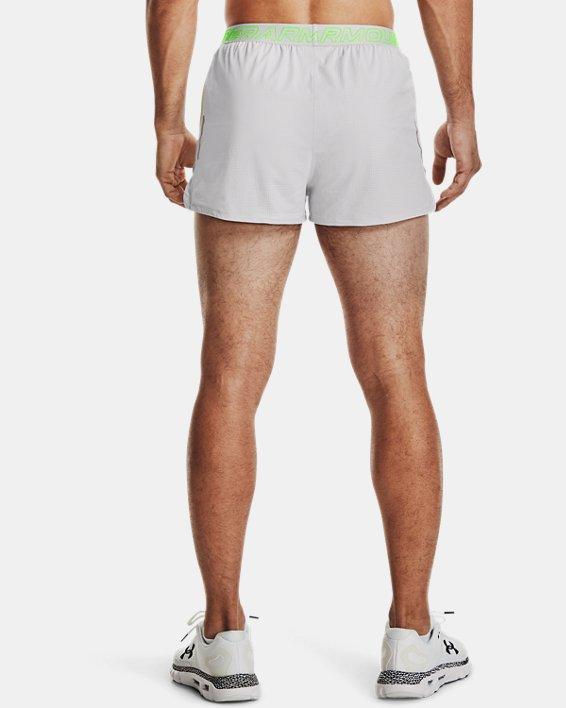 Men's UA Draft Run Shorts, Gray, pdpMainDesktop image number 2